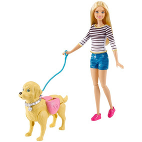 Barbie Paseo De Perrito Tienda Oficial