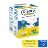 Caja Diapro Pañal Grande Cuidado Extra 40 Uni.