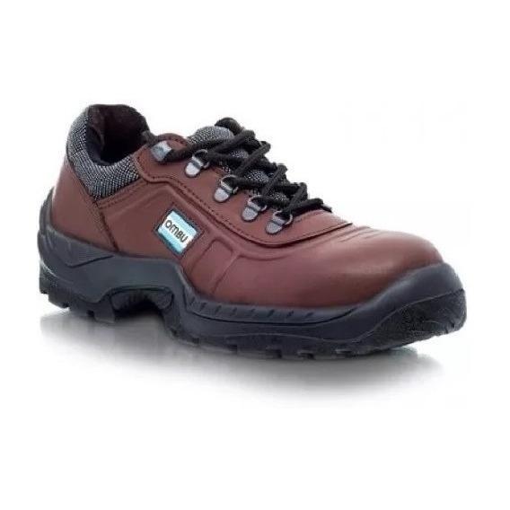 Zapato De Trabajo Y Calzado Seguridad Ozono Ombu Marron