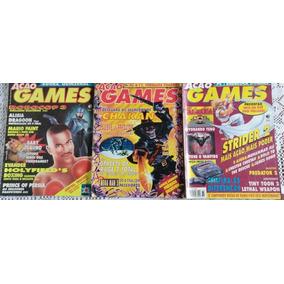 Lote Revistas Ação Games - 9 Edições