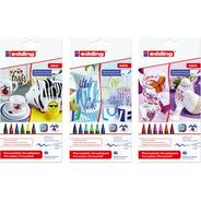 Marcador Porcelana Edding 4200 Por 6 Uni Colores Cálidos