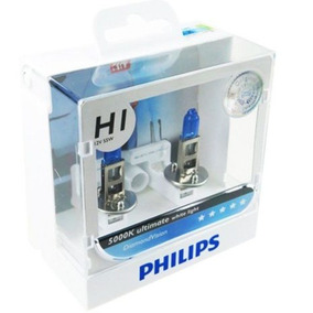 ( Veja Original ) Philips Diamond Vision 5000k H1 + Garantia
