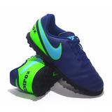 Botines Nike Modelo De Niños Tiempo X Rio 3 - (443)