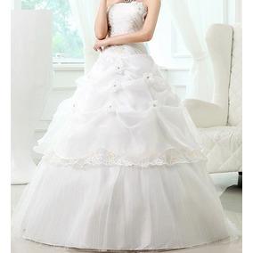 Vestido Quinze Anos Debutante Baile Branco