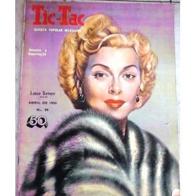 Vintage Revista Tic--tac De ( Lana Turner ) Años 50s