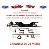 Kit Direccion Hidraulica Cremallera Ford Mustang 1965-1970