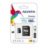 Memoria Adata Micro Sd Hc Sdxc 32gb Uhs-i Clase 10 Premier