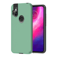 Funda Armor Soft + Film Hydrogel Motorola One Hyper