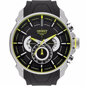 Relógio Orient Cronógrafo Puls. Borracha Grande Mbspc033