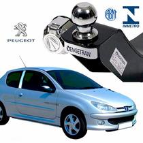 Engate Para Reboque Engetran Peugeot 206 2000 2008 Completo