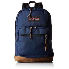 Morral En Cuero Y Tela Jansport Right Pack Backpack