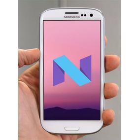 Actualización Android Nougat 7.1 Samsung Galaxy S3 - Tienda