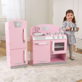 Estufa + Refrigerador De Juguete Kidkraft (edad 3 Años)