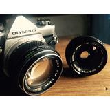 Lente Olympus Zuiko Om 28mm F2 Adaptable Canon Nex M43!