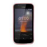 Celular Libre Nokia 1 Rojo Android Oreo Go Quad Core