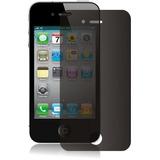 Lamina Protectora De Pantalla Antiespia Iphone 4g 4s Apple