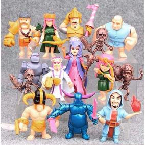 15 Figuras Clash Of Clans Envío Gratis Lote Set Royale Rey