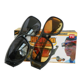 Combo Gafas Hd Vision Wrap 2 X 1 Gafas Dia Y Gafas Noche Tv