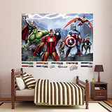 Fathead Avengers Montar Mural Real Big Wall Decal