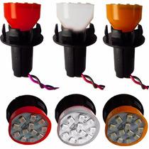 Par Lampada C/ Soquete 2 Polos:sinaleira Ré Pisca Freio Seta