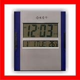 Reloj De Pared Digital-distr Ofic- Factura Aob- Iva Incluido
