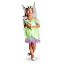 Vestido Sininho De Luxo Orignal Da Loja Disney P/entrega