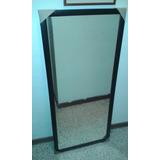 Espejo Con Marco De Madera 120x40