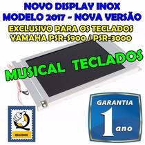 Display Lcd P/ Teclado Yamaha Psr S900 C/ 01 Ano Garantia