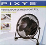 Mini Ventilador Portatil Pixys De 4 Pulgadas Modelo Vm10p