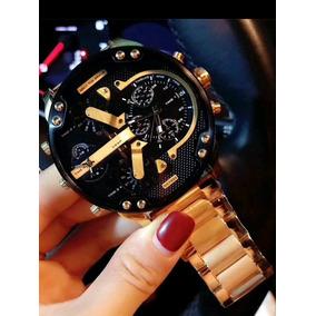 Relógio Diesel Dourado Dz 7333 E Outros Leia Descrição!