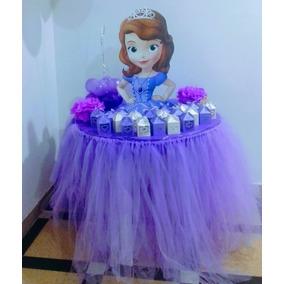 Alquiler Mesa Forma De Princesa,sofía,frozen,moana,minnie