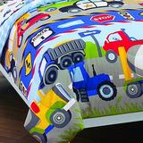 Dream Factory Trucks Tractors Cars Niños