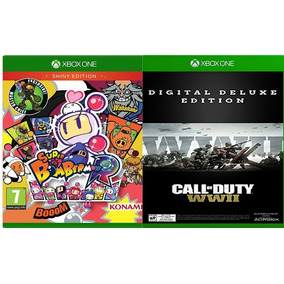 Bomberman + Call Off Dutty Ww2 Deluxe X Box One