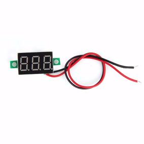 Mini Voltimetro Digital Dc 4.5 30 V Rojo Arduino Pic Motos