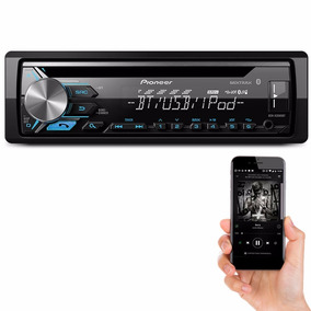 Cd Player Pioneer Deh-x3980bt Bluetooth Usb Aux App Mixtrax