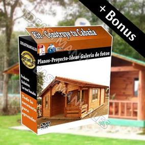 Planos Diseños Construye Casas Cabañas Madera