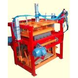 Máquina Para Fabricar Blocos Pneumática + Kit