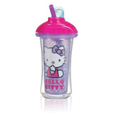 Vaso Insulado Con Popote Hello Kitty