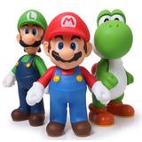 Figuras Mario Bros Set 3 Juguetes
