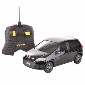 Carro Controle Remoto Fiat Novo Palio Sporting 1:18 Cks Toys