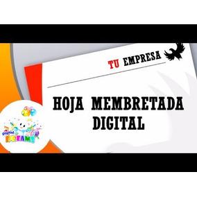Hojas Membretadas Digitales