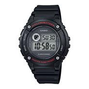 Relógio Masculino Casio Digital W-216h-1avdf Iluminator