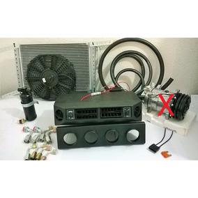Kit Ar Condicionado Automotivo Opala Adaptação S/ Comp E Sup
