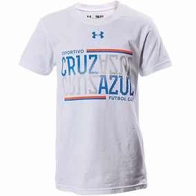 Playera Atletica Cruz Azul Niño Under Armour Ua1839