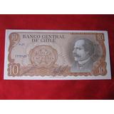 Chile 10 Escudos Cano - Molina