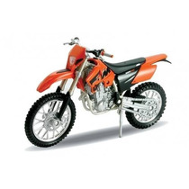 Motocicleta Moto Ktm 525 Exc Escala 1:18 Welly