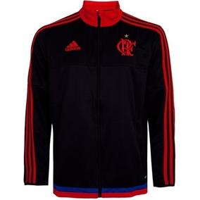 Jaqueta Flamengo adidas Preto Elanka 2014 Tam P