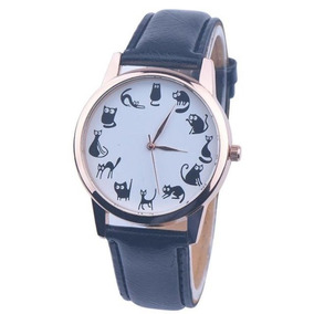 433fb986b3a Relogio Pulso Gato Preto - Relógios no Mercado Livre Brasil