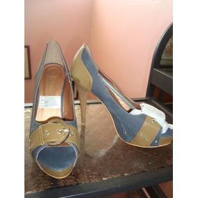 Zapatos De Tacon Altos Damas 39