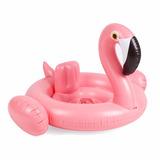 Salvavidas Inflable Infantil Flamingo Gratis Pelota Alberca
